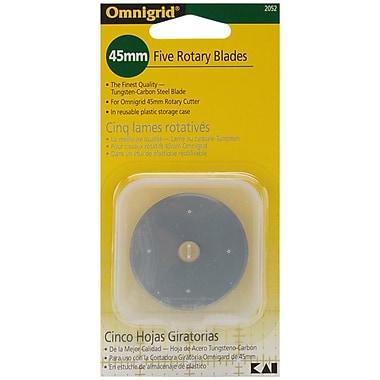 Omnigrid Rotary Blade Refill, 45mm 5/Pkg