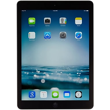 Apple iPad Air with Retina display with WiFi + Cellular (AT&T) 32GB, Space Gray