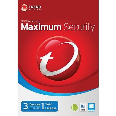 TITANIUM Maximum Security 2014 for Windows (1 User) [Download]