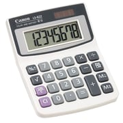 Canon® Hand-Held Calculators, 8-Digit Solar/Battery Handheld Calculator