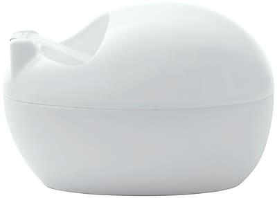 Scotch® Karim Design Pebble Desktop Tape Dispenser, White