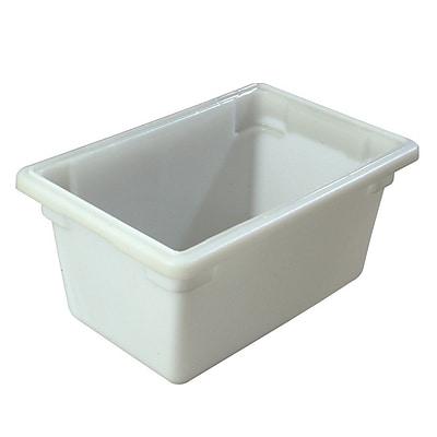 Carlisle 1063202, 5 gal 12'' x 18'' x 9'' PE StorPlus Box, White