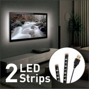 Barkan - Éclairage USB d'ambiance pour TV, bandes DEL de 2 x 19,7 po / 50 cm
