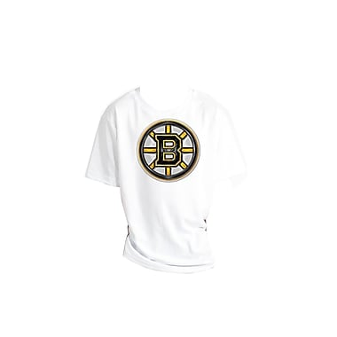 NHL Liquid Metal Youth T-Shirt, Boston Bruins, Small