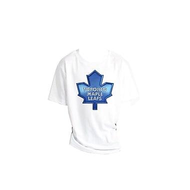 NHL Liquid Metal Youth T-Shirt, Toronto Maple Leafs, Small