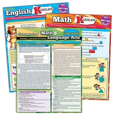 BarCharts, Inc. - QuickStudy® Kindergarten Resource Set