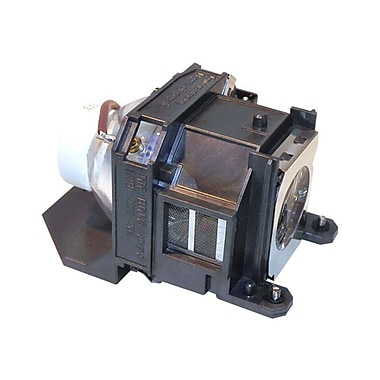 eReplacements ELPLP40-ER Replacement Lamp For Epson Powerlite Projectors, 210 W