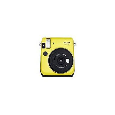 Fujifilm Instax Mini 70 Instant Film Camera, 60 mm, Canary Yellow