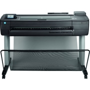 HP® DesignJet T830 Color Thermal Inkjet Large Format Multifunction Printer, F9A30A#B1K, New