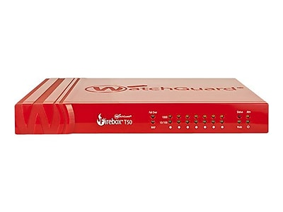 WatchGuard® Firebox® T50-W Competitive Trade In Program 7-Port Security Appliance with 3 Years Security Suite