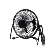 Premiertek USB Powered Desk Fan With Switch, Black