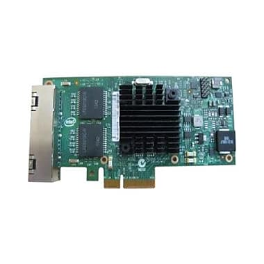 Dell Intel I350 QP Network Adapter, PCI Express, 4 Port(s), 4 Twisted Pair, (540-BBDS)