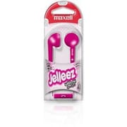 Maxell  Jelleez (191571) Wired Stereo Dynamic Earset, Pink