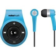 NoiseHush  (NS560-11976) Bluetooth Clip-On Stereo Headset with Microphone, Blue