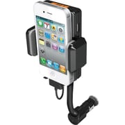 Naztech Car Mount Speaker System (N3005-10914) Portable, Black