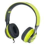 Gear Head (HS3500GRN) Wired Stereo Studio Headphone, Black/Green