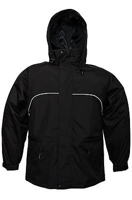 Viking Torrent High-tech Polyester Waterproof Jacket Black (828BK-M)
