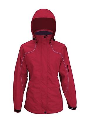 Viking Creekside Tri-zone Ladies All-Season Jacket Red (880R-XXL)