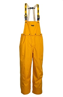 Viking Journeyman 420D Ripstop Nylon Bib Pants Yellow (3300P-S)