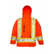 Viking Professional THOR Trilobal Ripstop Waterproof Breathable Jacket Orange (3930JO-S)