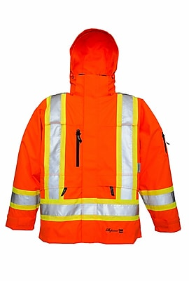 Viking Professional THOR Trilobal Ripstop Waterproof Breathable Jacket Orange (3930JO-XL)