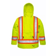 Viking Professional Arctic Tri-zone Trilobal Ripstop Safety Jacket Green (6410JG-L)