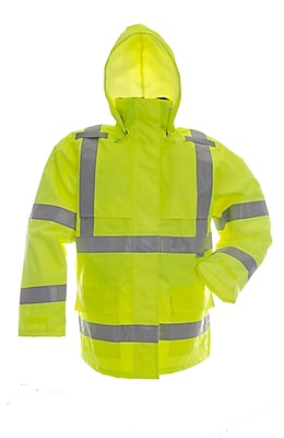 Open Road 150D Ripstop Safety Jacket Green (D6323JG-XXXXL)