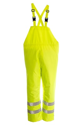 Open Road 150D Ripstop Safety Bib Pants (D6323PG-S)