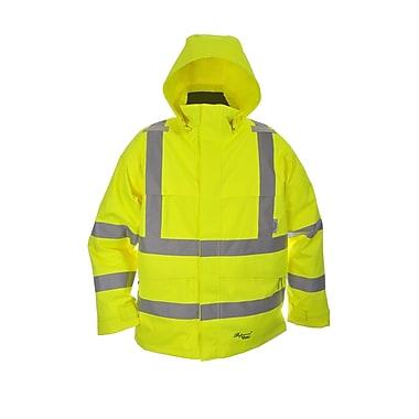 Viking Professional Journeyman Trilobal Ripstop Safety Jacket Green (D6329JG-XXXXL)