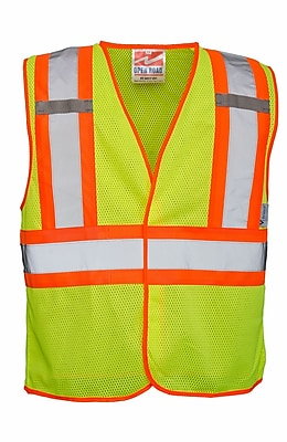 Open Road BTE Safety Vest Green (U6110G-4XL/5XL)