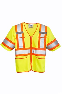 Viking Class 3 Safety T-Vest Green (U6155G-4XL)