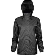 Viking Windigo Lightweight Waterproof Ladies Jacket Black (920BK-XL)