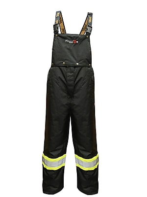 Viking Professional Insulated Journeyman Trilobal Ripstop FR Bib Pants (3907FRWP-XXL)