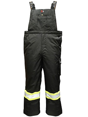 Viking Professional Freezer Insulated Journeyman Trilobal Ripstop FR Bib Pants (3957FRP-L)