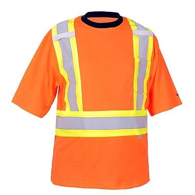 Viking Safety Cotton Lined T-shirt Orange (6000O-S)