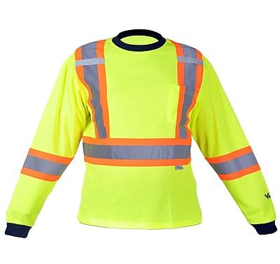 Viking Safety Cotton Lined Long Sleeve Shirt Green (6015G-XXXL)