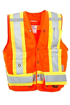 Viking Surveyor Safety Vest Orange (U6195O-XXXL)