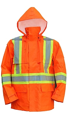 Open Road 150D Ripstop Jacket Orange (6323JO-S)