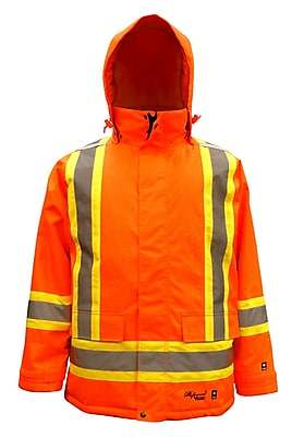 Viking Professional Freezer Trilobal Ripstop Safety Jacket Orange (6450JO-XXL)