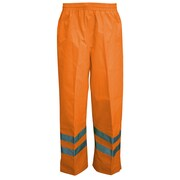 Viking Professional Journeyman Trilobal Ripstop Safety Waist Pants Orange (D6329WPO-XXXL)