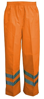 Viking Professional Journeyman Trilobal Ripstop Safety Waist Pants Orange (D6329WPO-XXXXL)