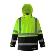Viking Professional Freezer Trilobal Ripstop 2-tone Safety Jacket Green (D6455JG-M)
