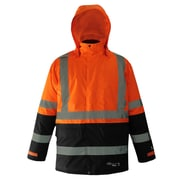 Viking Professional Freezer Trilobal Ripstop 2-tone Safety Jacket Orange (D6455JO-L)