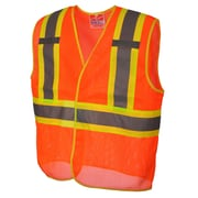 Open Road BTE Safety Vest Orange (U6110O-4XL/5XL)