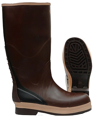Viking NBR Rubber Boot, Non-Safety, Brown (VW29-6)