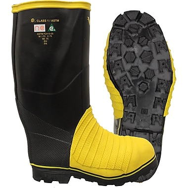 Viking Miner 49'er Tall NBR Rubber Boot, ASTM Mt/75 Metatasal, ASTM F2413-11 Steel Toe, Steel Plate Size: 13