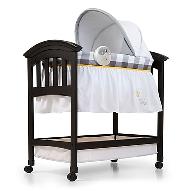 Summer Infant Classic Comfort Wood Bassinet, Buffalo Check