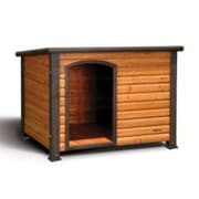 Precision Pet Outback Log Cabin Dog House; Small (34'' x 25'' x 22'')