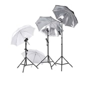 Square Perfect Professional Photography Studio Lighting Umbrella Soft Light Kit
