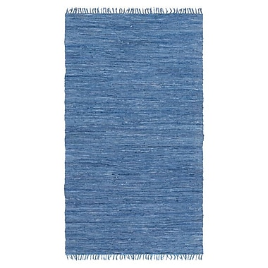 Artistic Weavers Easy Home Navy Solid Delaney Area Rug; 2'6'' x 4'